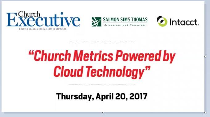 WEBINAR: Church Metrics Powered by Cloud Technology