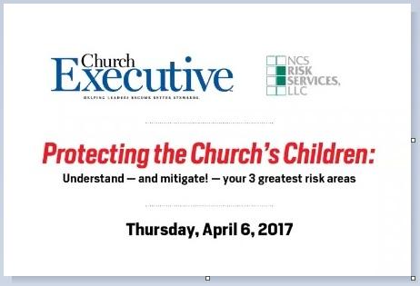 WEBINAR: Protecting the Church's Children