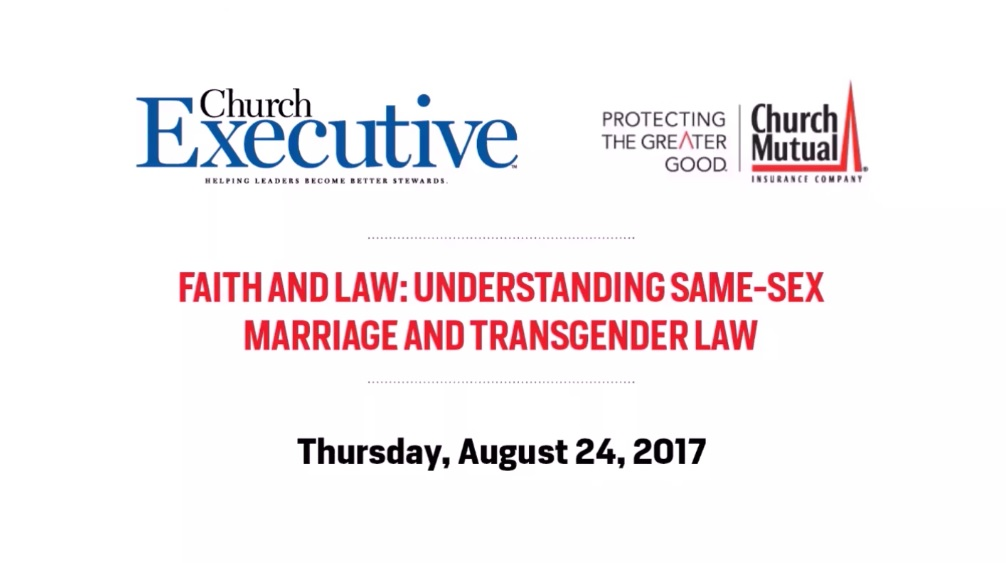 Faith and Law: Understanding Same-Sex Marriage and Transgender Law