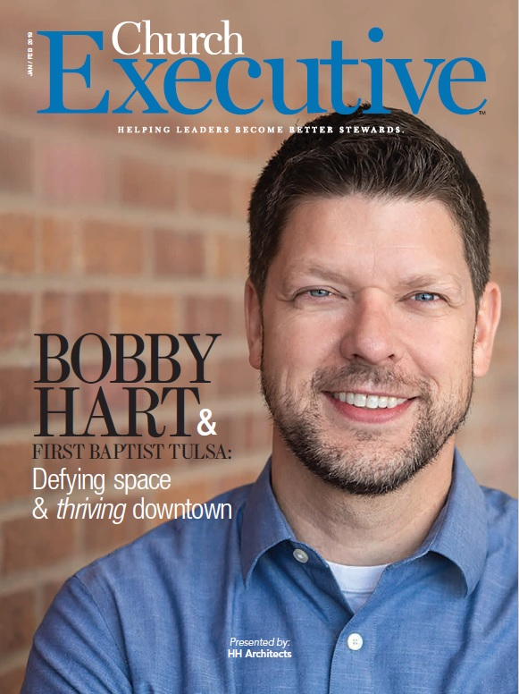 BOBBY HART & FIRST BAPTIST TULSA: Defying space & <I>thriving</I> downtown
