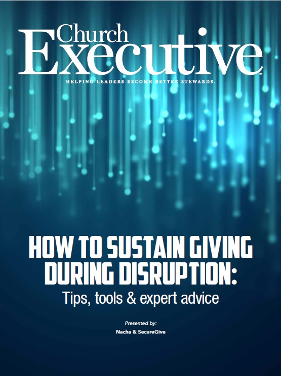 HOW TO SUSTAIN GIVING DURING DISRUPTION: TIPS, TOOLS & EXPERT ADVICE