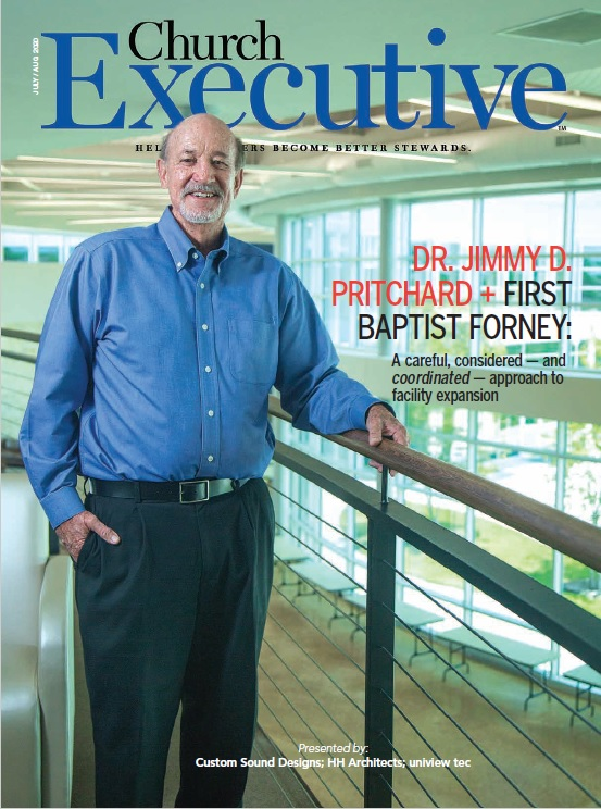 DR. JIMMY D. PRITCHARD + FIRST BAPTIST FORNEY: A careful, considered — and <i>coordinated</i/> — approach to facility expansion