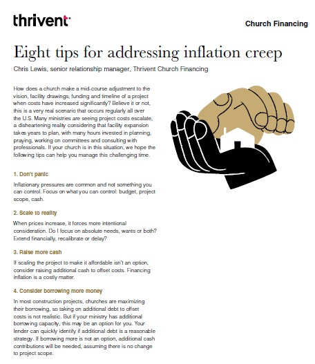 8 tips for addressing inflation creep
